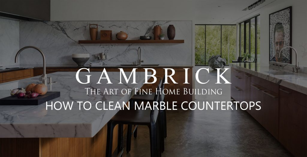 how to clean marble countertops banner pic