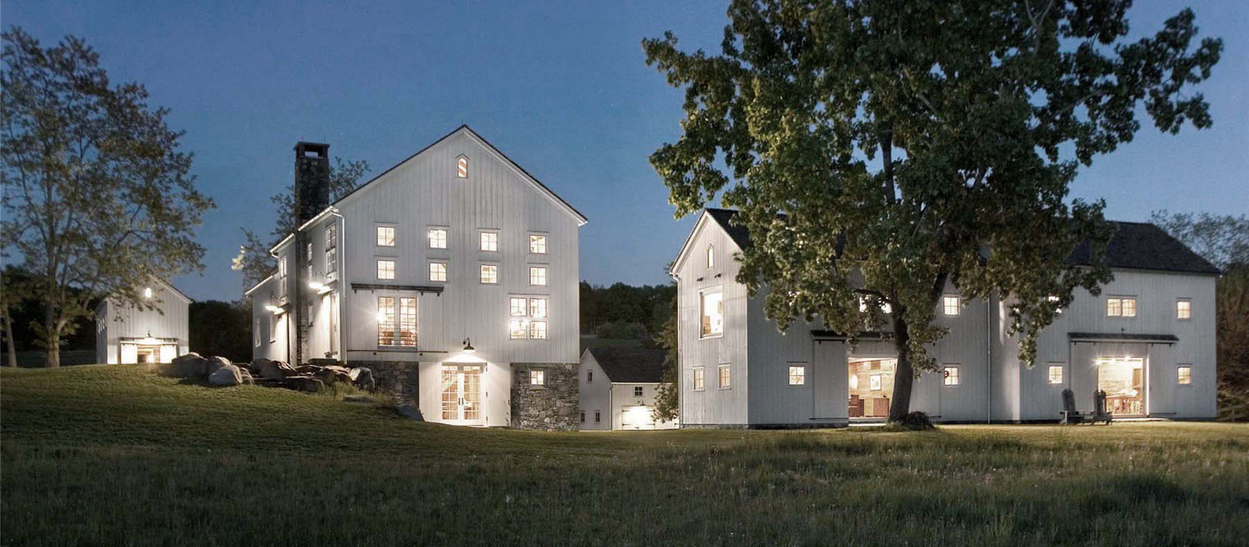 Advantages Of A Multigenerational Home Beautiful custom home in the country side farmhouse