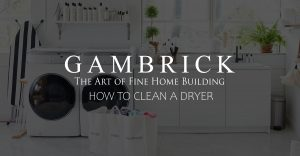 how to clean a dryer banner picture | Gambrick