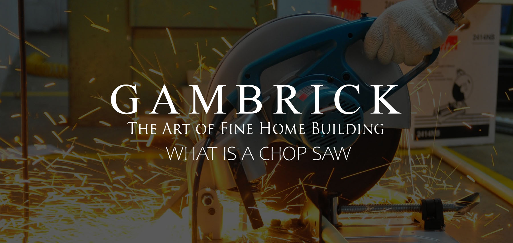 what is a chop saw banner picture | Gambrick