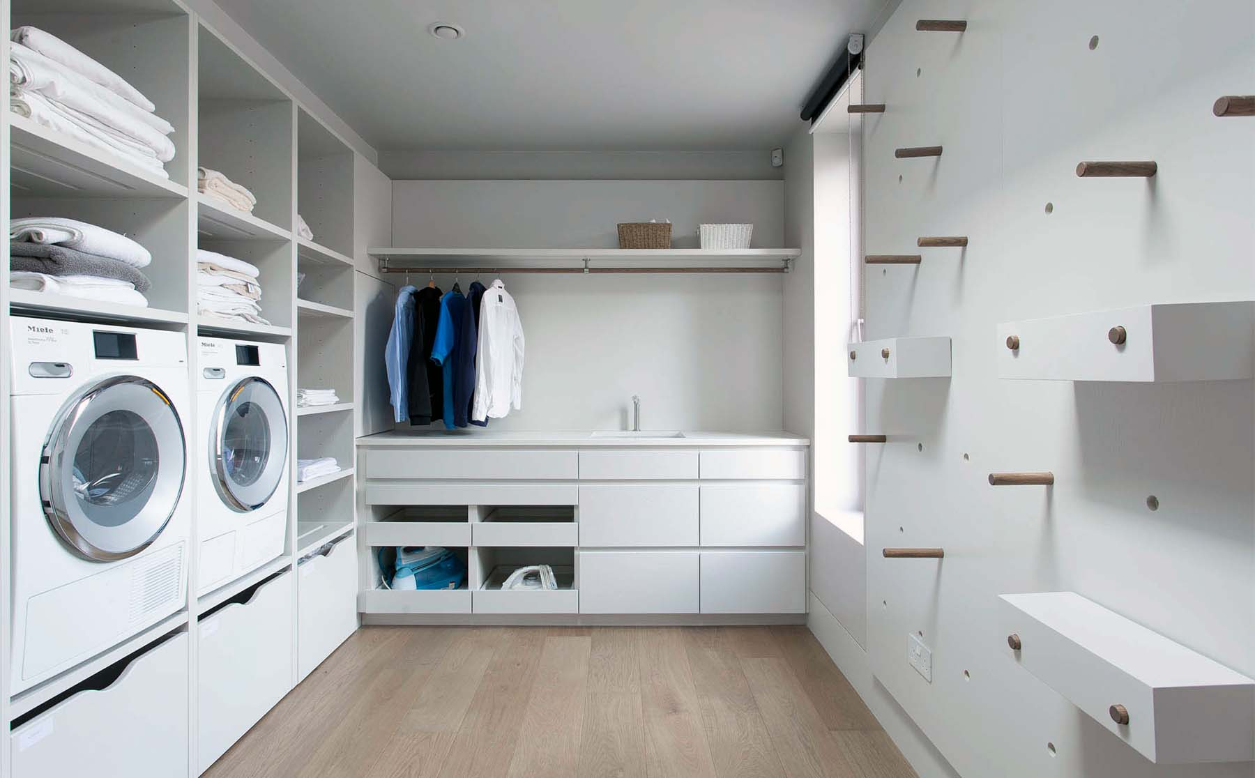 how to clean a dryer all white laundry room with built ins