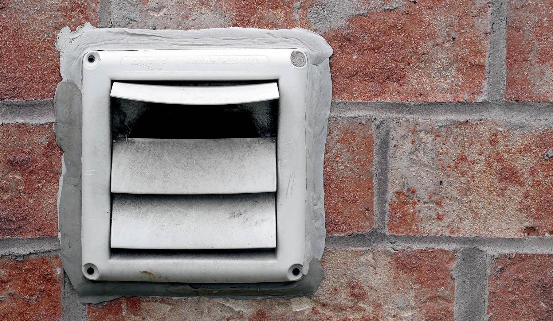 how to clean a dryer vent exterior view of a vent
