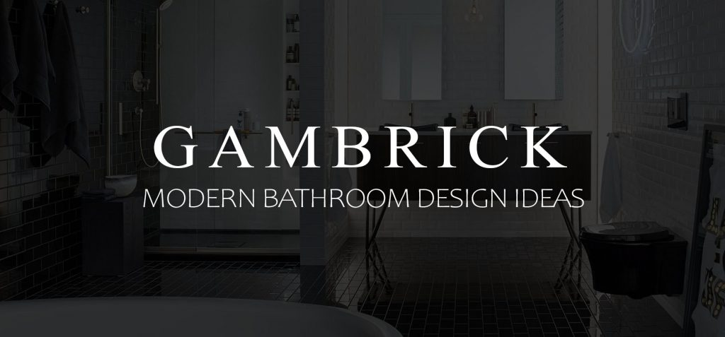 modern bathroom design ideas banner picture