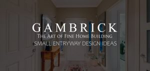 small entryway design ideas banner pic | Gambrick