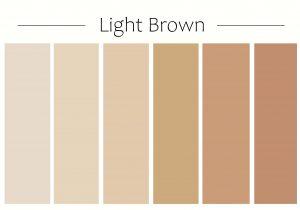 light brown garage door paint color chart with red brick