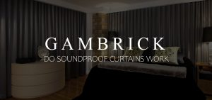 do soundproof curtains work in a bedroom