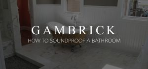 how to soundproof a bathroom banner pic