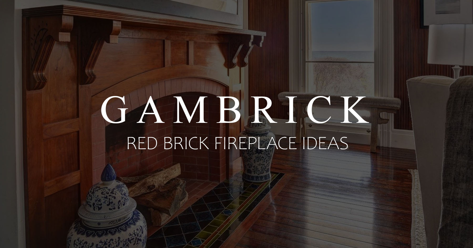 Image of: Red Brick Fireplace Ideas Beautiful Fireplace Designs