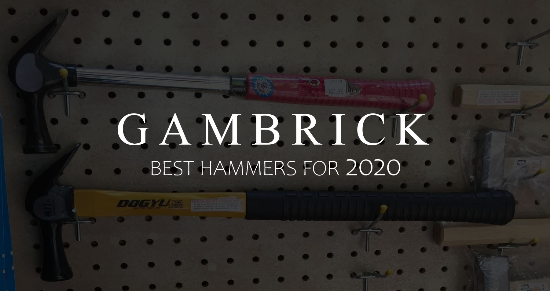 best hammers for 2020 banner pic