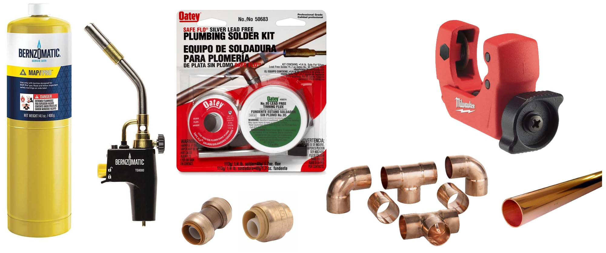 plumbing tools for copper pipes
