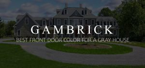 best front door color for a gray house banner pic
