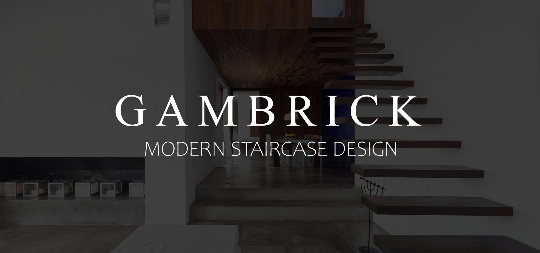 modern staircase design banner pic