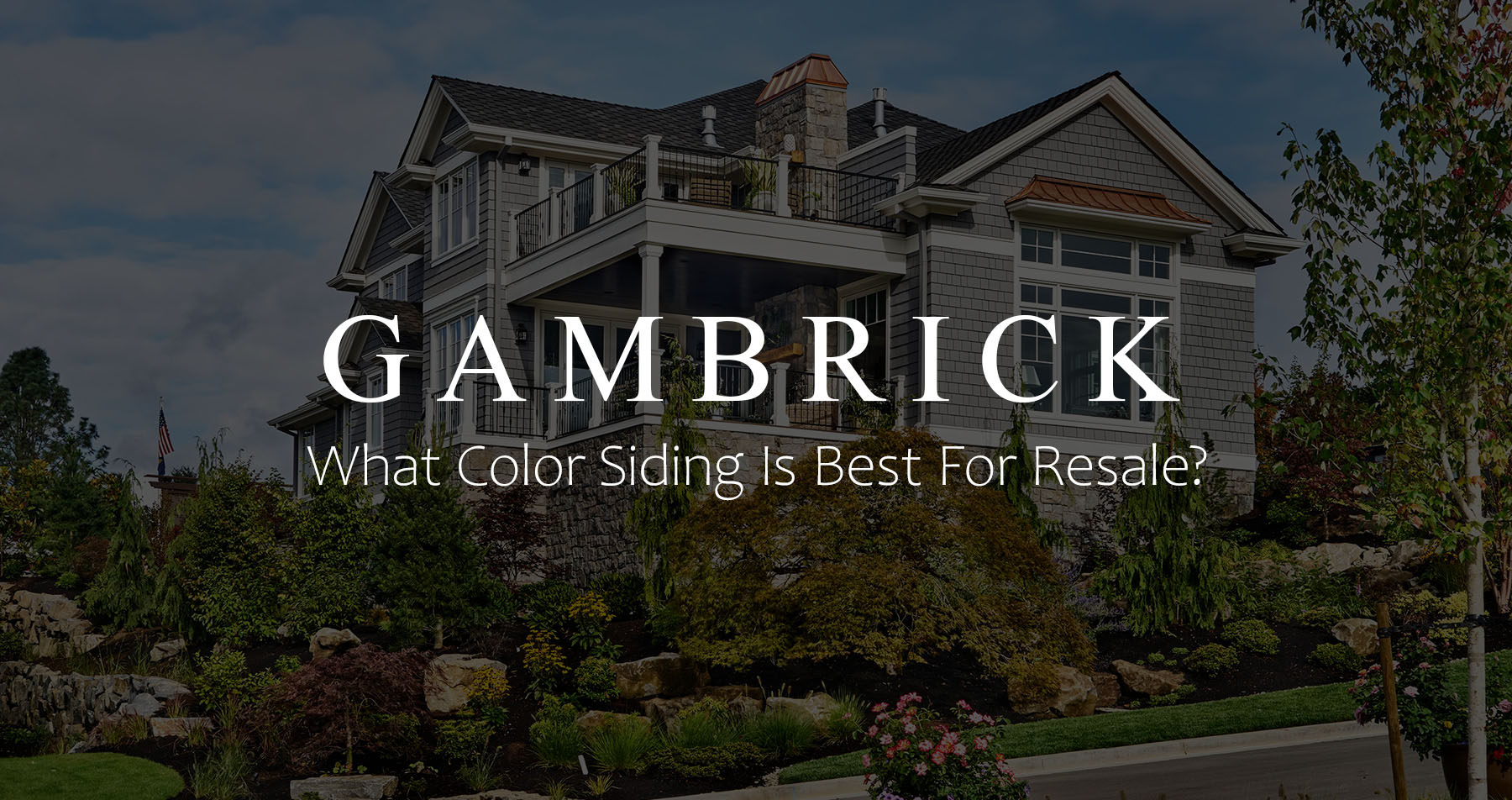 What Color Siding Is Best For Resale Get Top Dollar