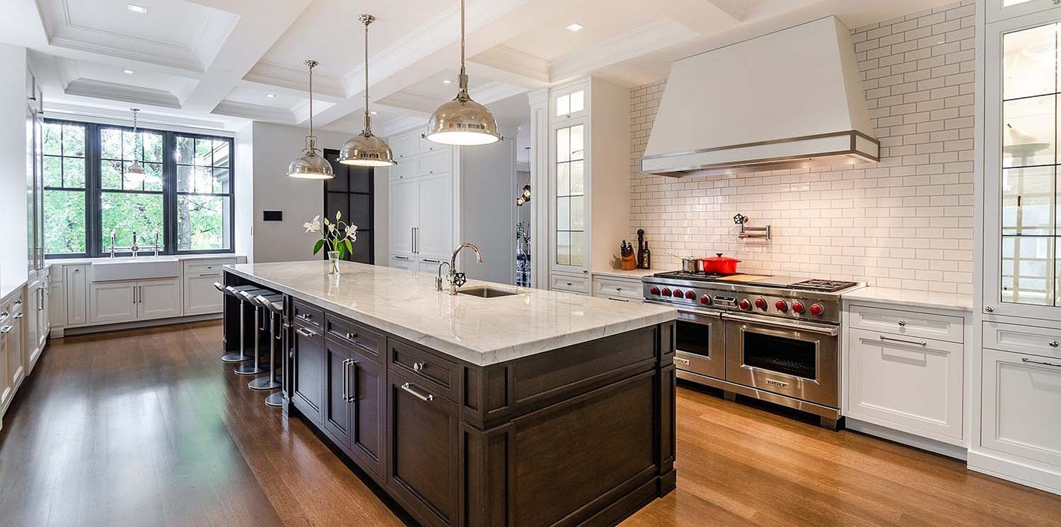 """60"""" wolf range with double oven in a luxury kitchen why are wolf ovens so expensive?"""
