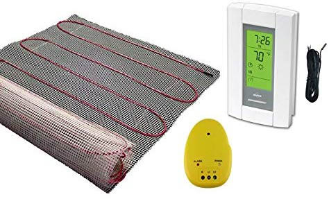 electric radiant floor system