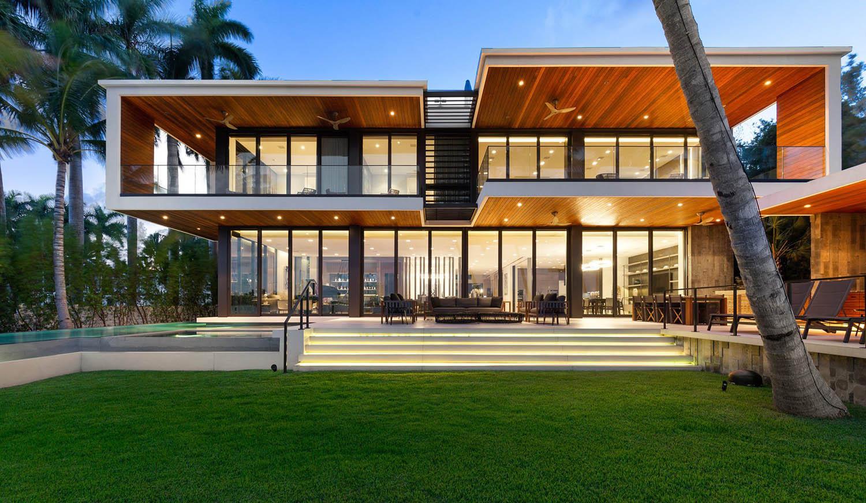 Modern Flat Roof Home Designs Modern Design Gambrick