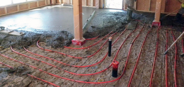 concrete radiant floor heating