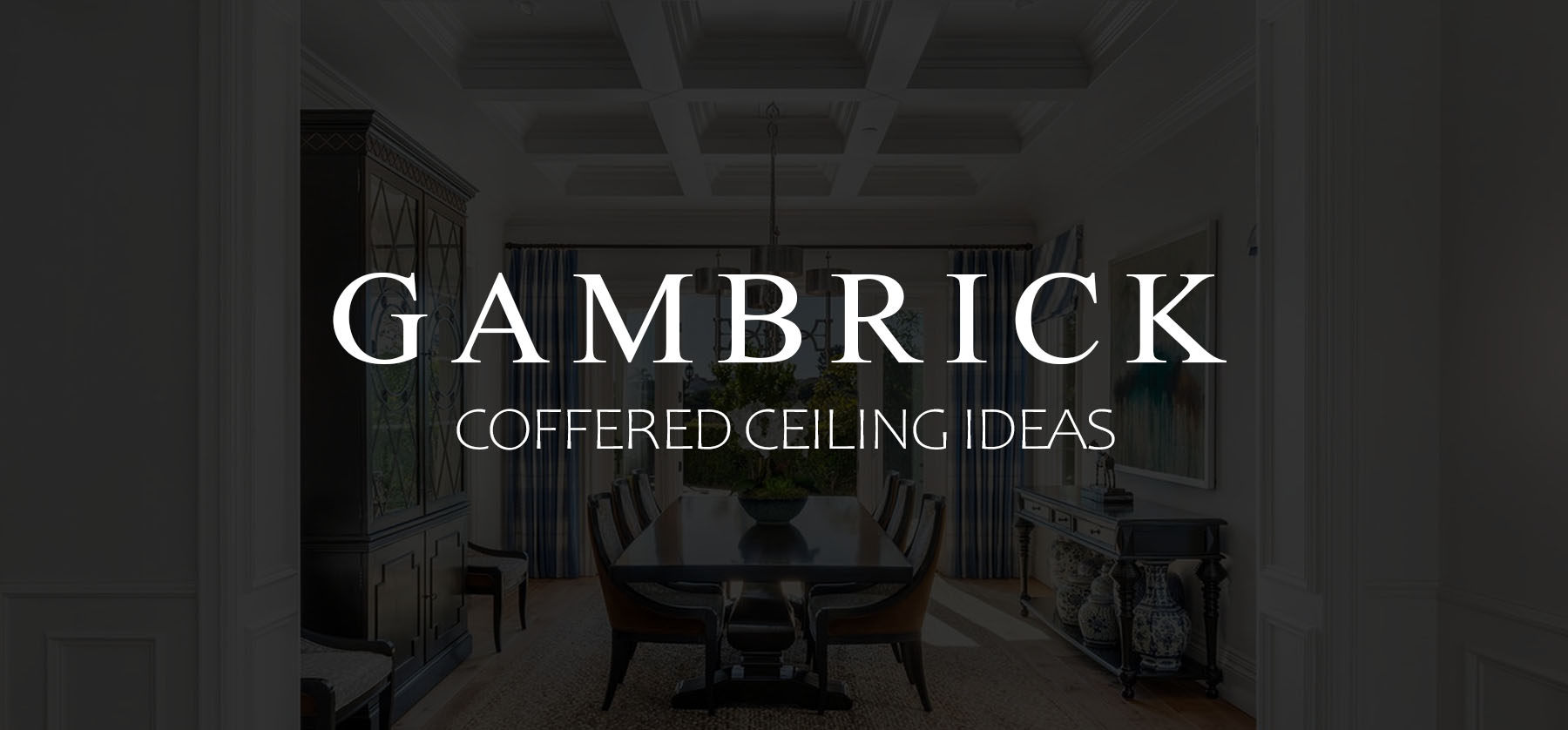 coffered ceiling ideas banner pic