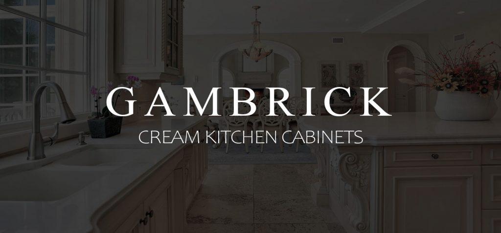 Cream Kitchen Cabinets banner picture 1