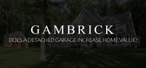 does a detached garage increase home value banner pic