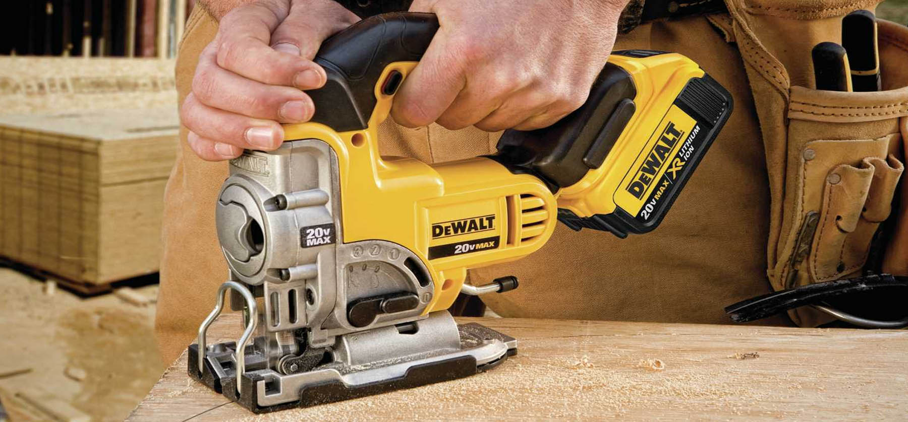 jigsaw cutting wood an essential beginners tool for woodworking