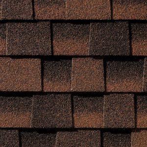 hickory roofing shingle closeup