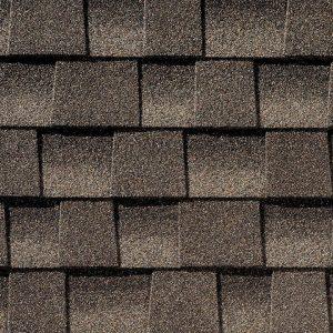 gray timberline roof shingle closeup 1