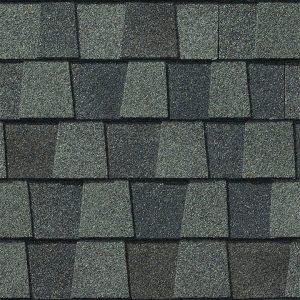 nantucket morning roof shingle closeup
