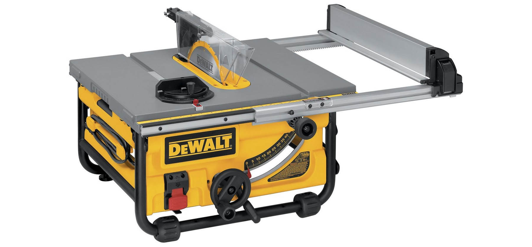 table saw by Dewalt basic tool for beginner level woodworking