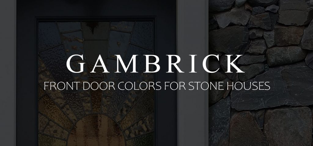 Front door colors for stone houses banner picture