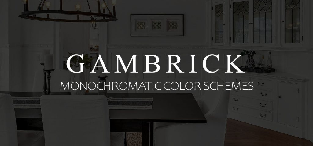 Monochromatic color schemes banner picture