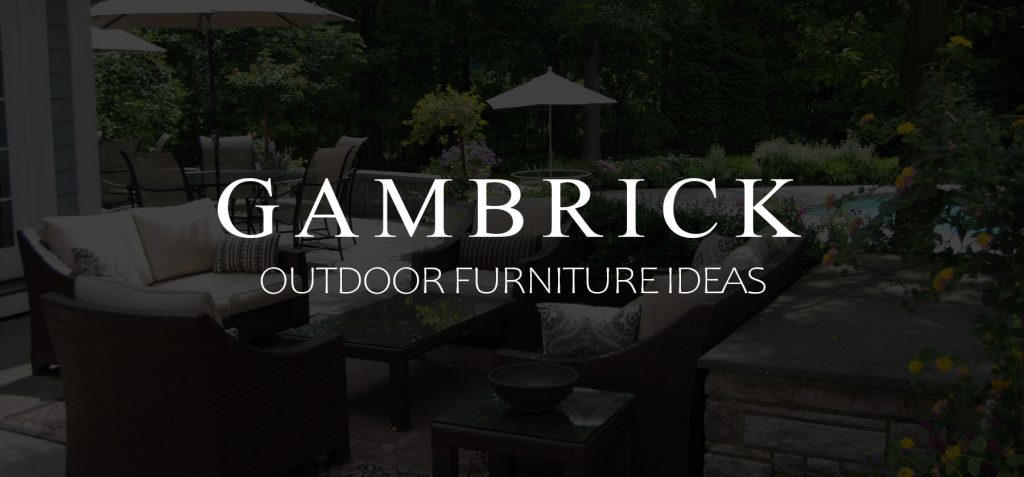 Outdoor Furniture Ideas Banner Picture