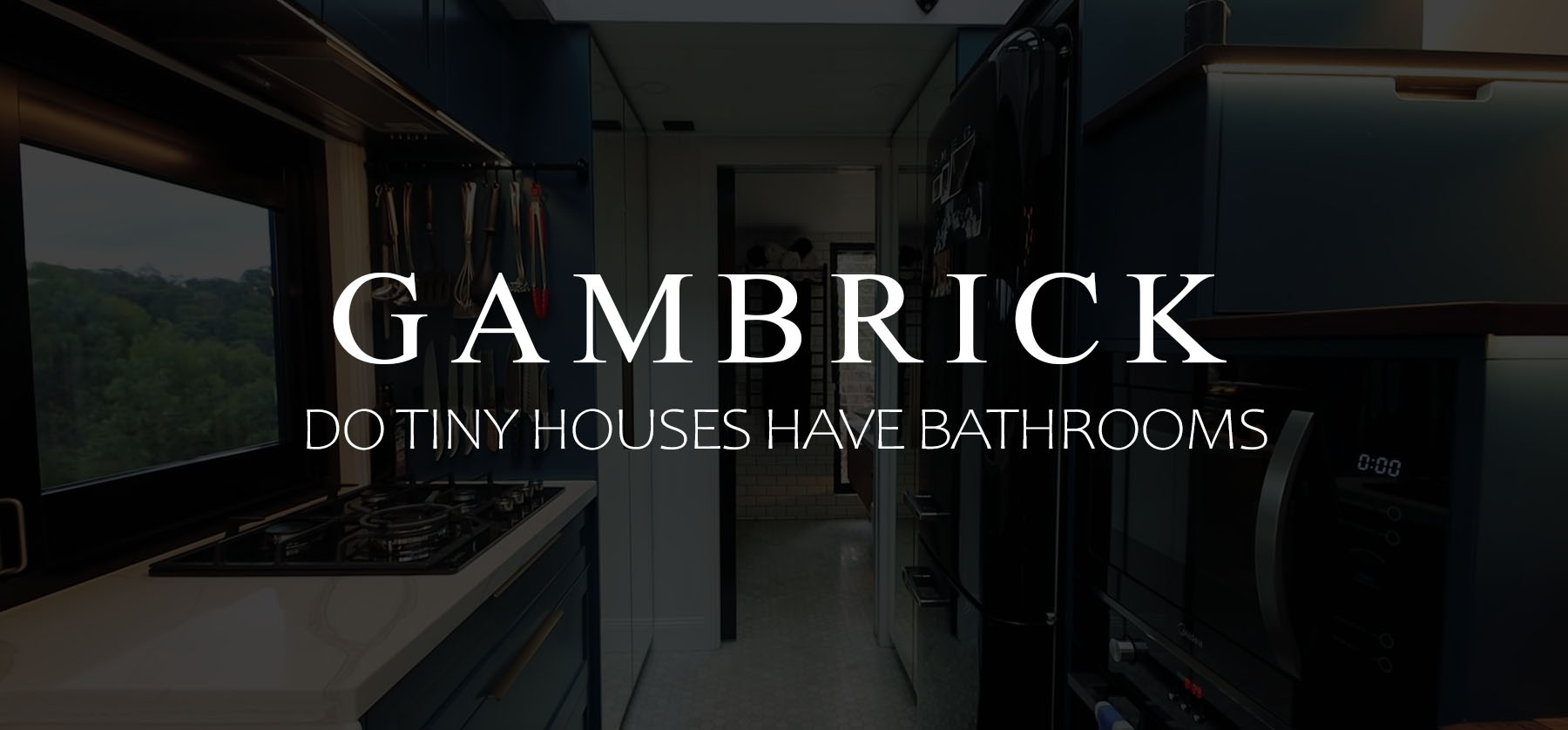 Do tiny homes have bathrooms banner 1