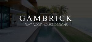 Flat roof house designs banner picture