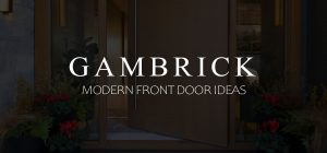 Modern front door ideas banner picture