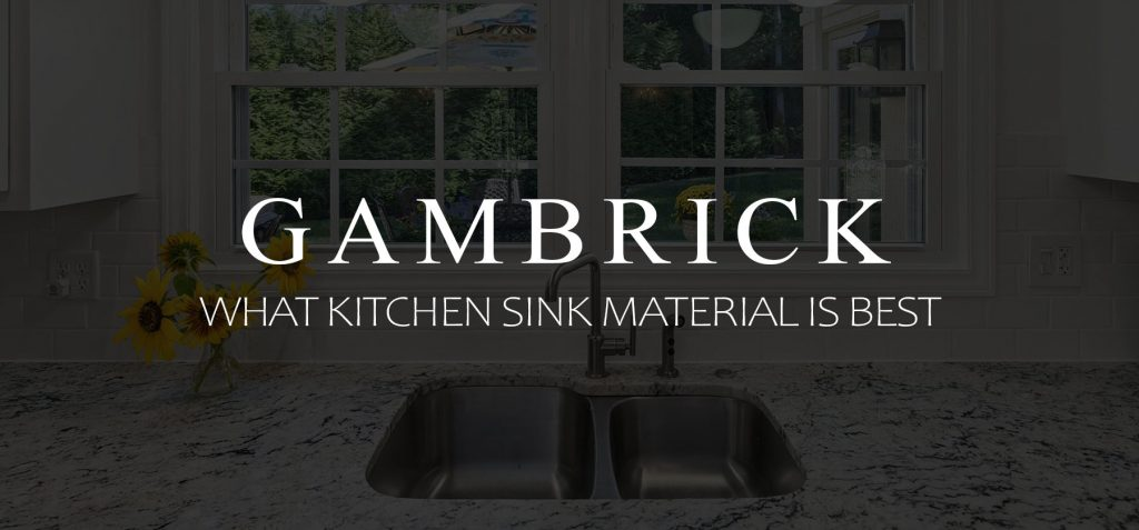 What Kitchen Sink Material Is Best banner 1