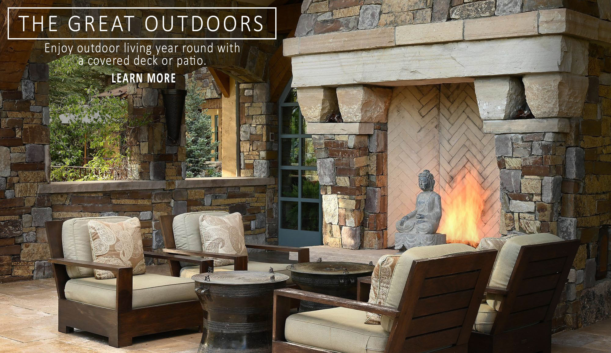 outdoor living spaces builder banner picture