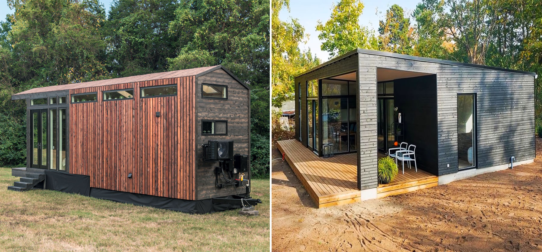 do tiny houses appreciate in value side by side comparison of tiny homes