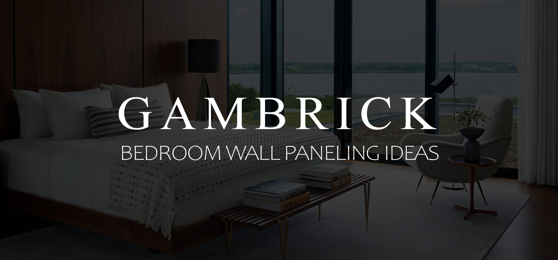 Bedroom wall paneling ideas banner 1