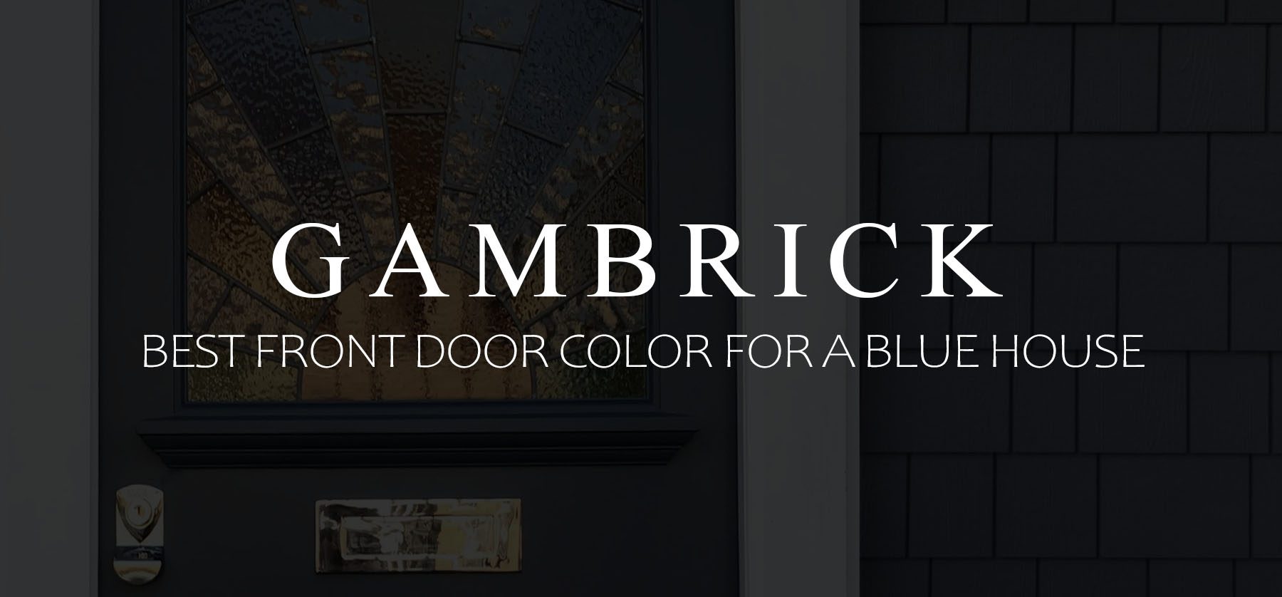 Best front door color for a blue house banner 1