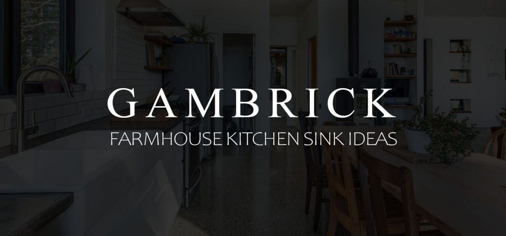 Farmhouse kitchen sink ideas banner 1