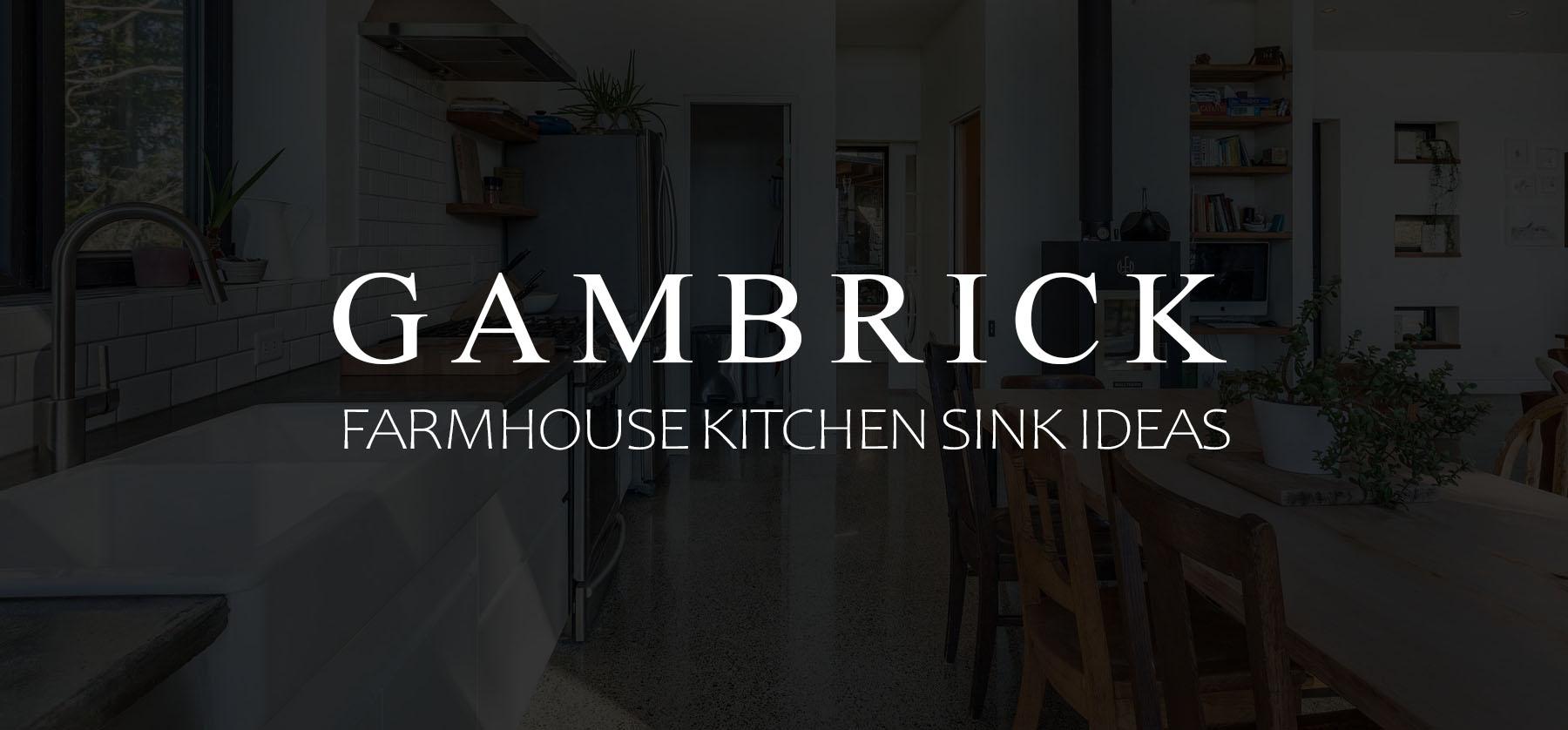 Farmhouse kitchen sink ideas & Designs banner 1