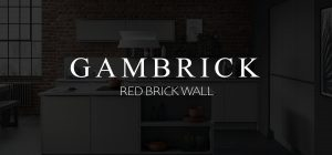 Red brick wall banner 1