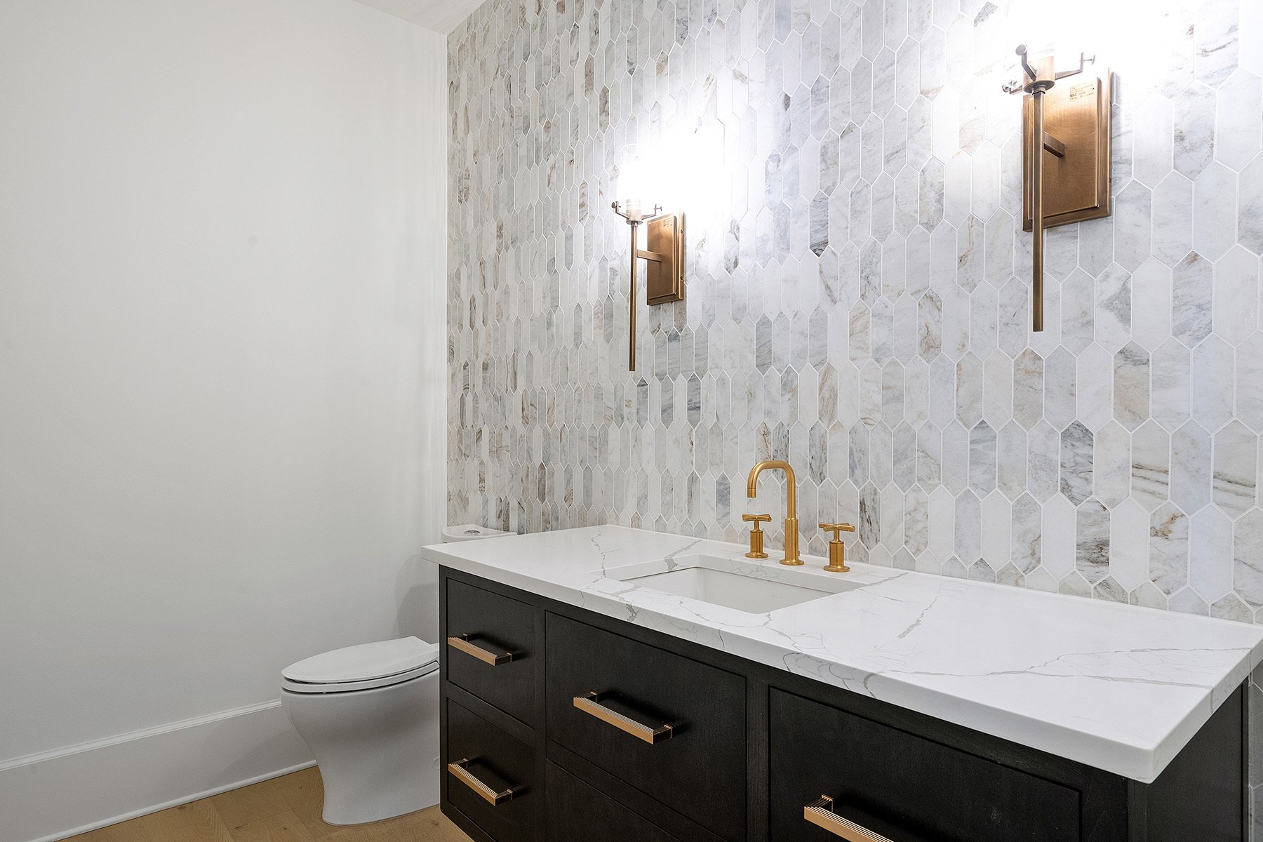 The Best Grout Color For Marble Carrara Tile More