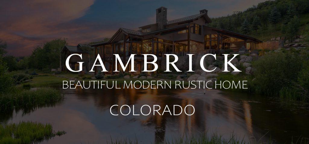 Beautiful Modern Rustic Home Colorado Banner 1