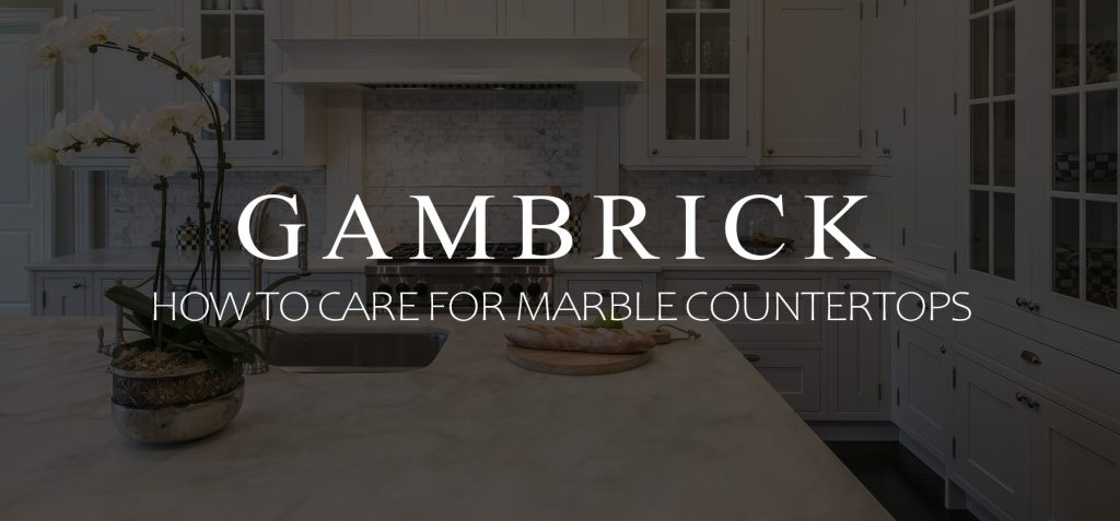 Hot To Care For Marble Countertops Banner 1