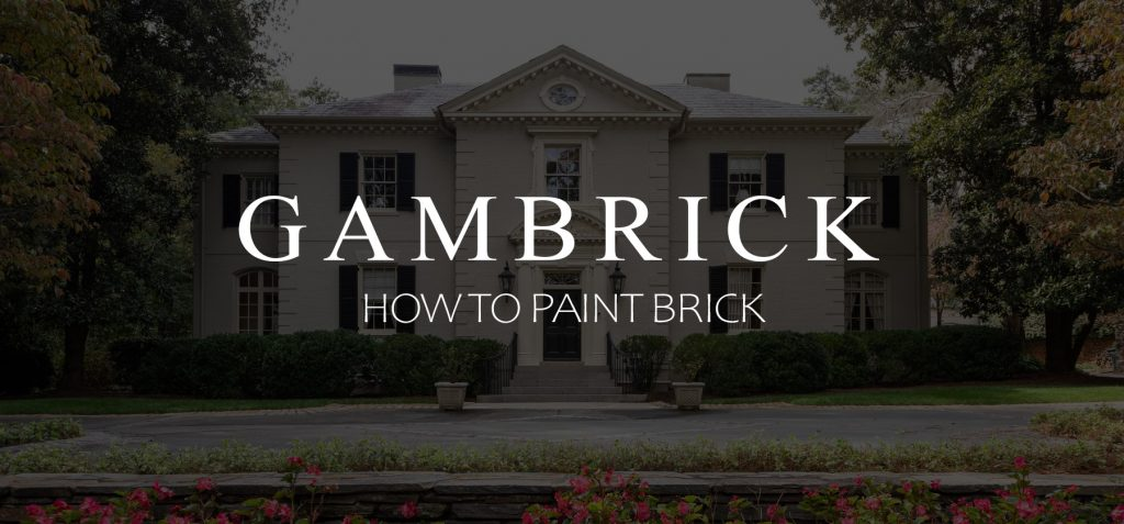 How To Paint Brick Banner 1