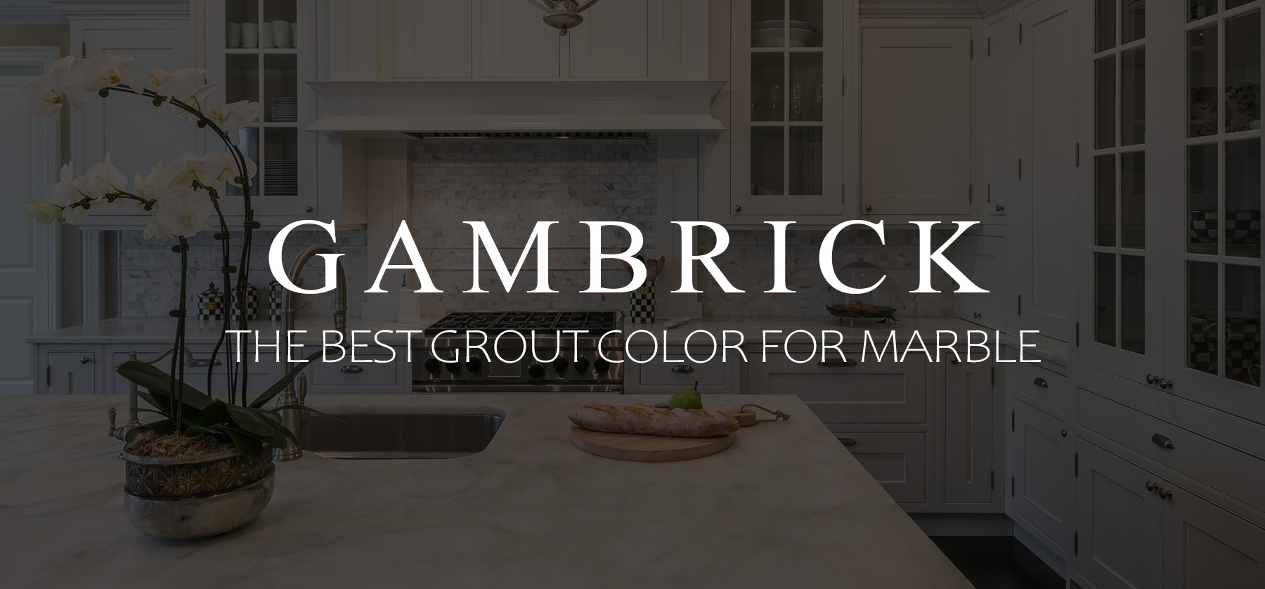 The Best Grout Color For Marble Banner 1