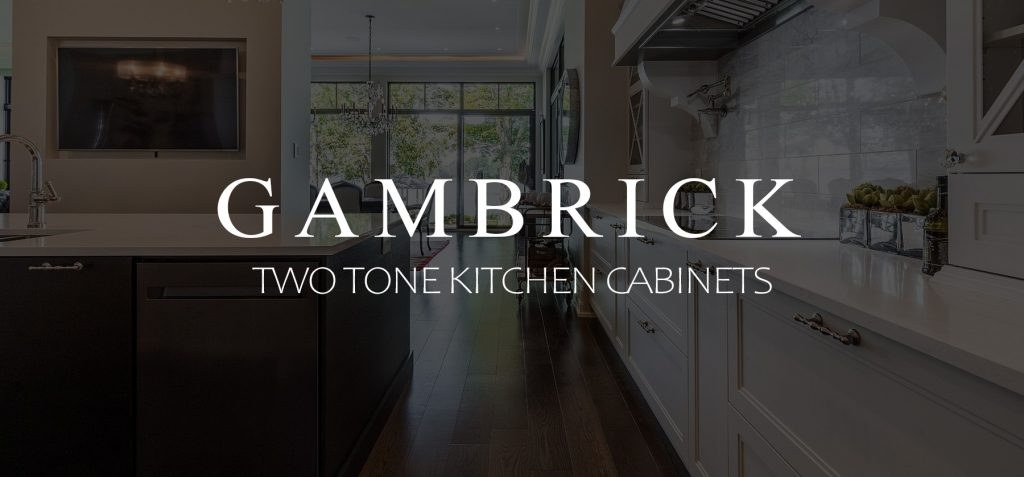 Two Tone Kitchen Cabinets Banner 1
