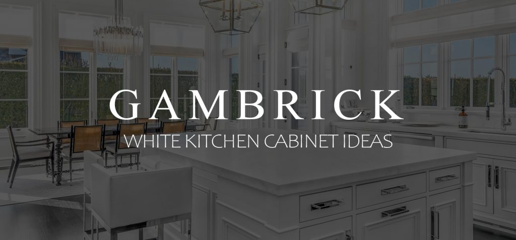 White kitchen Cabinet Ideas Banner 1